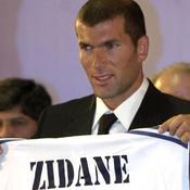 Zidane devient un Galactique