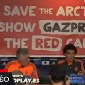 La conf' du Real perturbée par Greenpeace