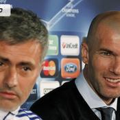 José Mourinho et Zinedine Zidane Real Madrid