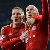 Bastian Schweinsteiger et Arjen Robben