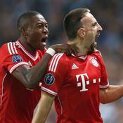 Franck Ribery et David Alaba