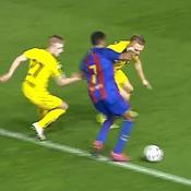 Le but somptueux d'un jeune espoir de Barcelone