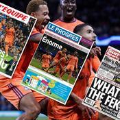 «Le peps Genesio», «Enorme» : la presse encense l'OL après sa victoire sur Manchester City