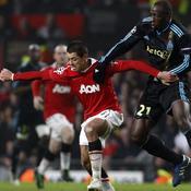 Manchester United - Marseille Javier Hernandez Souleymane Diawara