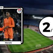 Les notes des Lyonnais face à Barcelone : Marcelo s'est noyé, Ndombélé sort du lot