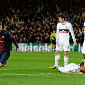 A l'image du Barca de Lionel Messi, ici en 2013 face à l'AC Milan, plusieurs clubs ont déjà renversés des situations mal embarquées en Ligue des champions