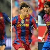Motta, Ibrahimovic et Maxwell sous le maillot catalan