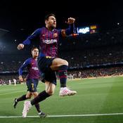 Avec un Messi divin, le Barça balaie Manchester et file en demies