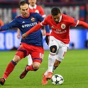 Ligue des champions : CSKA Moscou-Benfica en direct