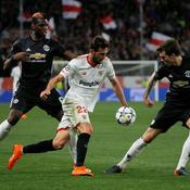 Tenu en échec à Séville, Manchester United ne méritait pas mieux