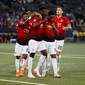 Avec trois buts et bien plus, Pogba et Martial portent Man U