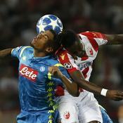 Naples accroché à Belgrade, Dortmund ne se rate pas à Bruges