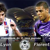 Juninho LIVE Lyon Fiorentina