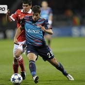 Lyon-Benfica en images