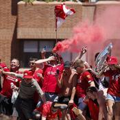 Marée rouge sur Madrid avant la finale de la Ligue des champions (vidéo)