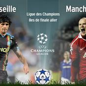 Marseille - Manchester United en direct live