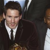 Lionel Messi et Pelé