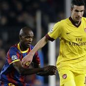 Eric Abidal Barcelone-Arsenal