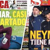 PSG-Real J-7 : la presse madrilène dit déjà «adios» à Neymar