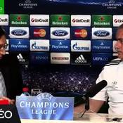 Quand Mourinho offre son sweat au traducteur