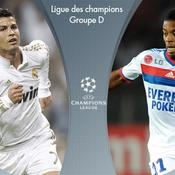 Real Madrid-Lyon en DIRECT