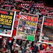 Revue de presse : Pour l'Espagne, «le Barça le plus ridicule de l'histoire»