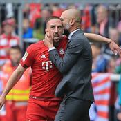 Ribéry s'interpose pour éviter une altercation entre Guardiola et son staff médical