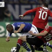 Schalke-M. United en images