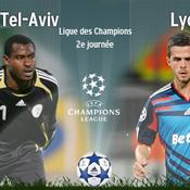 Hapoël Tel Aviv-Lyon, LIVE