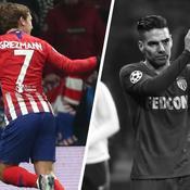Tops/flops Atlético Madrid-Monaco : Griezmann inarrêtable, Chadli encore inexistant