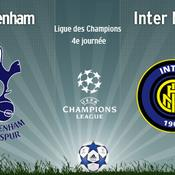Tottenham - Inter en direct