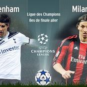 Tottenham-Milan AC direct live
