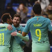 Neymar (11), Lionel Messi et Luis Suarez (7)