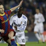 Barcelone - Real Madrid Andres Iniesta