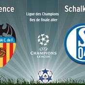 Valence - Schalke en direct live