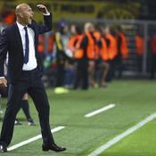 Zidane «dégoûté» par le nul du Real face à Dortmund