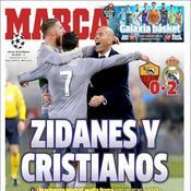 Zinédine Zidane - Cristiano Ronaldo