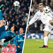 Zidane plaisante sur le but de Ronaldo : «Le mien était plus beau»