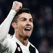 Un triplé pour Ronaldo, la Juve élimine l'Atlético Madrid
