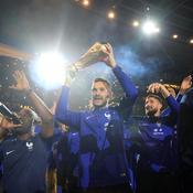 Cette fois, les champions du monde ont communié avec leurs supporters