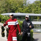 Corentin Tolisso et Nabil Fekir