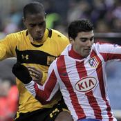 Ricardo Faty (Aris Salonique) Jose Antonio Reyes (Atletico Madrid)