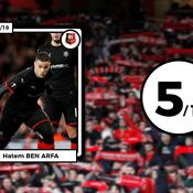 Les notes des Rennais : Sarr transparent, Ben Arfa trop intermittent