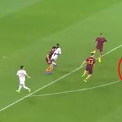 Lyon-AS Roma : le coup de canon de Lacazette qui met l'OL en (très) bonne position