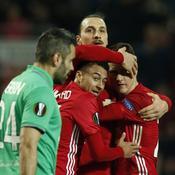 Zlatan Ibrahimovic et les Red Devils contre Saint-Etienne