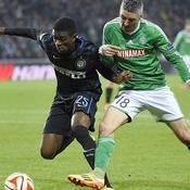 Saint-Etienne tient tête à l'Inter