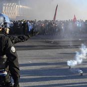 Scènes de guérilla dans les rues de Lyon