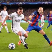 Le milieu du PSG Marco Verratti est pressenti pour remplacer Andres Iniesta à Barcelone
