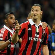 Zlatan Ibrahimovic sous le maillot de l'AC Milan