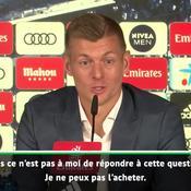 Kroos plaisante sur Mbappé : «J'ai un bon contrat, mais pas les moyens de l'acheter»